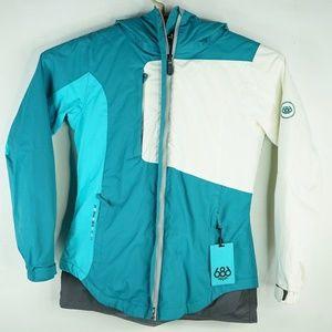 686 Womens infiDRY Winter Jacket Ski Sz Medium